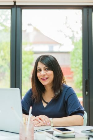 Aarti Popat, interior designer and creator of The Interior Designers Club membership