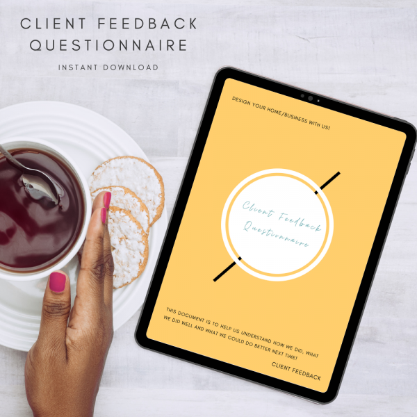 Client Feedback Questionnaire